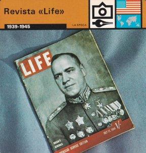 FICHA LA EPOCA: REVISTA LIFE. 1939-1945