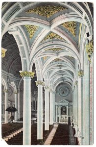 Boston, Mass, Interior of Immaculate Conception Church
