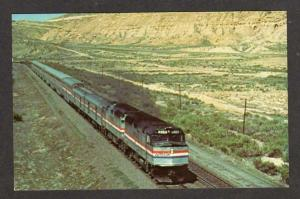 WY San Francisco Zephyr RR Train ROCK SPRINGS WYOMING
