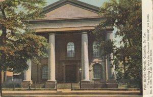 COLUMBIA, South Carolina, 1909; First Baptist Church