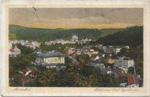 Czech Republic - Marienbad Blick vom Café Egerländer 03.14