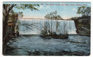 New Haven, Conn, The Dam, Lake Whitney