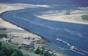 ROCKAWAY, Oregon , 1950; Jetty Fishery at the mouth of Nehalem Bay