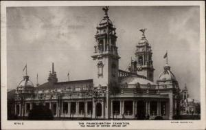 Franco British Exhibition Palace of Applied Art 1908 Real Photo Postcard