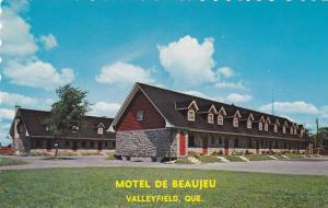 Exterior,  Motel De Beaujeu,  Mgr. Langlois,  Valleyfield,   Quebec,  Canada,...