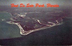 Florida St Petersburg Aerial View Fort De Soto Park