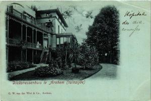 CPA ARNHEM Diakonessenhuis tuinzijde NETHERLANDS (604671)