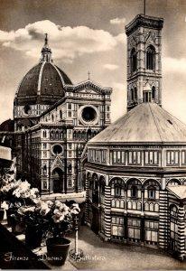 Italy Firenze Duomo Battistero
