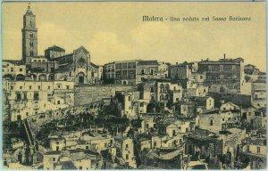 85943  - CARTOLINA d'Epoca - MATERA  città -  SASSO BARISANO