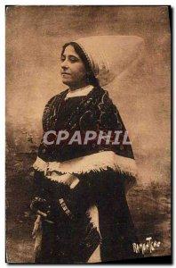 Old Postcard L & # 39Aunis and Saintonge Great Corffe Rétaise Folklore