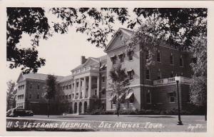RP: DES MOINES, Iowa, 1930-50s; US Veterans Hospital