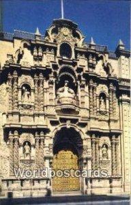 La Iglesia de lLa Merced, Epoca Colonial, Jiron Union, Union Street Lima, Per...
