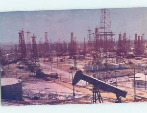 Pre-1980 FAMOUS OIL WELL SITE Signal Hill By Long Beach & Los Angeles CA c6703
