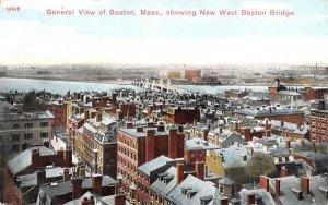 General View of Boston Massachusetts