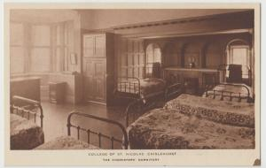 London; College Of St Nicholas, Chislehurst, The Choristers Dormitory PPC Unused