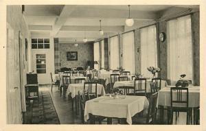 Kreuznach DE~Kurheim Dr Brogsitter~Saar,Fernruf Straßes Restaurant~1930s RPPC VP