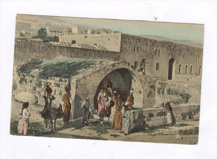 Nazareth, la Fontaine de la Vierge, Palestine, 00-10s