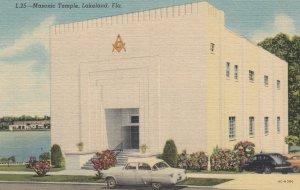 LAKELAND , Florida , 1930-40s ; Masonic Temple