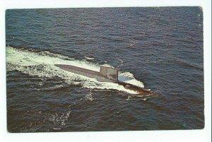 Postcard USS George Washington US Navy Submarine Unposted VPC01.