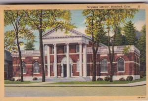 Connecticut Stamford Ferguson Library 1948 Curteich