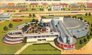 New York World's Fair 1939 The Ford Motor Company Building 1939