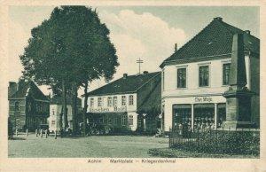 Germany Achim Marktplatz Kriegerdenkmal 03.37