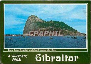 A Modern Postcard Souvenir from Gibraltar