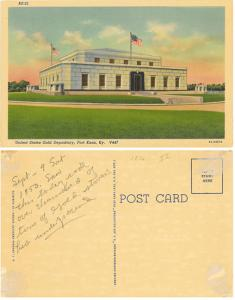 United States Gold Depository, Fort Knox, Kentucky
