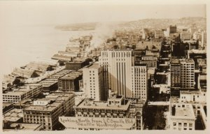RP; SEATTLE ,  Washington , 20-40s ; Looking North from L.C. Smith Building