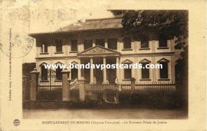 french guiana, Saint-Laurent-du-Maroni, New Courthouse (1927)
