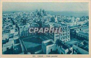 Postcard Old Cadiz Vista parcial