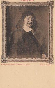 Portrait en buste de Rene Descartes , 00-10s ; TUCK 3019