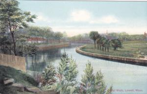 Canal Walk, Lowell, Massachusetts, 1900-1910s