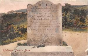Hindhead, Sailor's Stone Erected... grave 1908