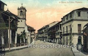 Republic of Panama, República de Panamá A Street Colon