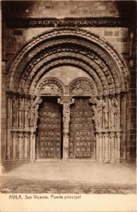 CPA Avila San Vicente, Puerta principal SPAIN (744120)