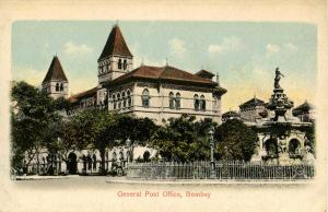 India - Bombay. General Post Office