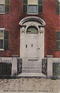 Abram Wendall Doorway Pleassant Street Portsmouth New Hampshire