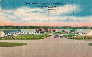1958 KNOX MOTEL Knoxville TN Clarence Poer Owner, Marion Mayhew Mgr, to Warren
