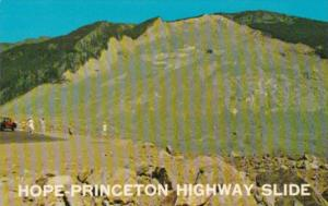Canada Hope-Princeton Highway Slide British Columbia