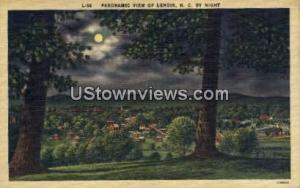 Lenoir, North Carolina, NC, Post Card Lenoir NC Unused