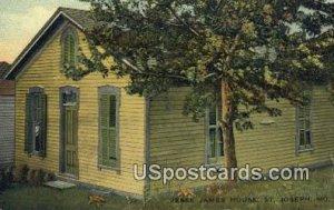 Jesse James House in St. Joseph, Missouri