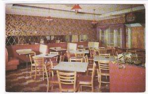 The Gay Spot Restaurant Milwaukee WI 1952 postcard