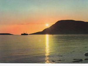 Ocean Liner, Midnight Sun , HAMMERFEST , Norway , 50-70s