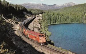 STEPHEN'S SWITCH , Alberta , Canada , 1973 , CP Railroad Train