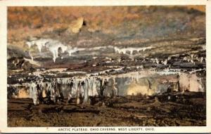 Ohio West Liberty Ohio Caverns The Arctic Plateau Curteich