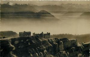 Suisse Switzerland Rigi Kulm 1940s RPPC