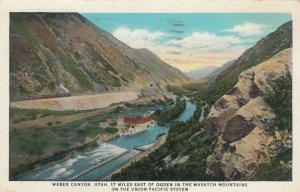 WEBER CANYON , Utah, 1933; 17 Miles East of Ogden in the Wasatch Mtns.