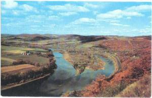 Site of French Azilum & Susquehanna River, Pennsylvania, PA, Chrome