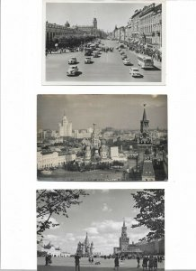 Russia - Postcard Lot Mostly Moscow Postcard Lot of 8 BS.01
